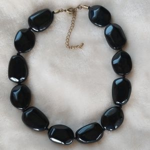 Classic Vintage Chunky Beaded Choker Necklace